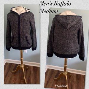 Buffalo David bitton Men's hoodie warm M new ❤️